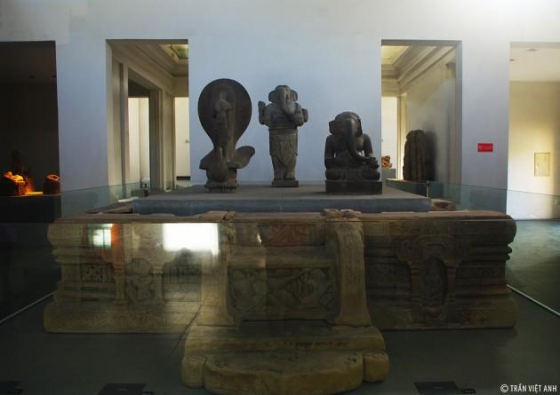 พิพิธภัณฑ์ประติมากรรมจามนครดานัง - ảnh 4