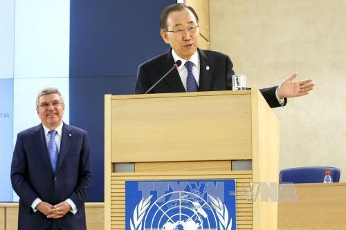 สหประชาชาติเรียกร้องให้อนุมัติสนธิสัญญาเกี่ยวกับปัญหาผู้อพยพ - ảnh 1