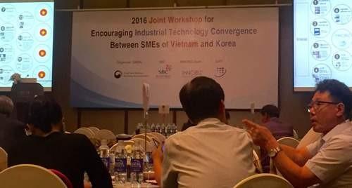 ผลักดันการเชื่อมโยงและถ่ายทอดเทคโนโลยีระหว่างสถานประกอบการเวียดนามกับสาธารณรัฐเกาหลี - ảnh 1