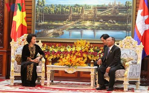 เสริมสร้างความสามัคคี ความสัมพันธ์มิตรภาพและความร่วมมือในทุกด้านเวียดนาม-กัมพูชา - ảnh 1