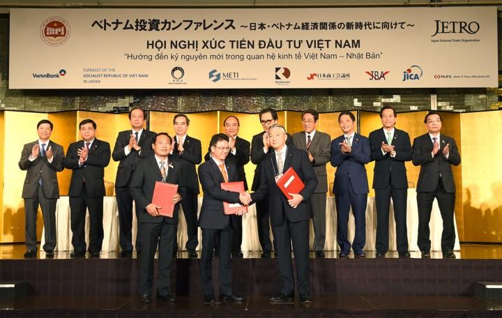 เวียดนาม-ญี่ปุ่นลงนามสัญญาการลงทุน มูลค่า2หมื่น2พันล้านดอลลาร์สหรัฐ - ảnh 1