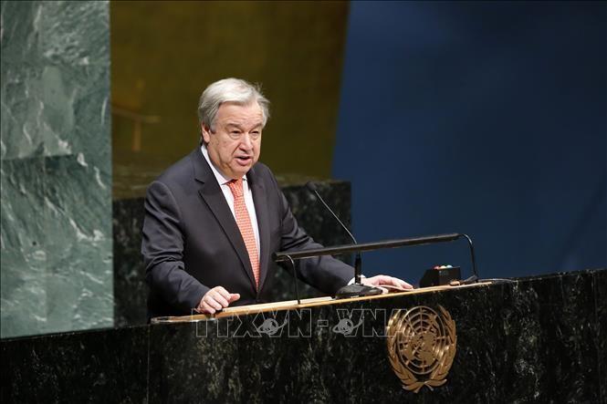 สหประชาชาติเรียกร้องให้โลกร่วมกันรับมือปัญหาการเปลี่ยนแปลงของสภาพภูมิอากาศ - ảnh 1