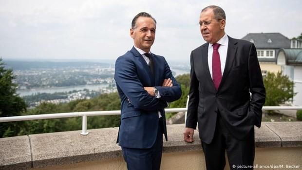 รัฐมนตรีต่างประเทศเยอรมนีชื่นชมการเข้าร่วมของรัสเซียในการแก้ไขปัญหาโลก - ảnh 1