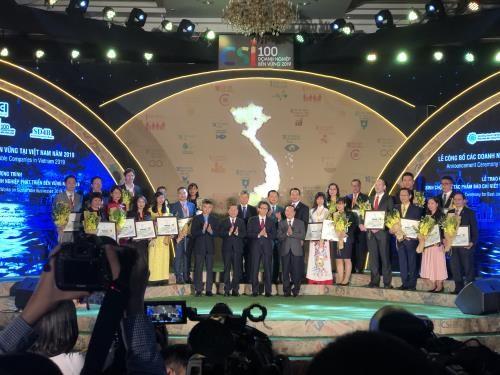 สดุดีสถานประกอบการดีเด่น 20 แห่งที่พัฒนาอย่างยั่งยืนในเวียดนามในปี 2019 - ảnh 1