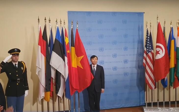 เวียดนามเข้าร่วมกิจกรรมต่างๆในฐานะสมาชิกไม่ถาวรของคณะมนตรีความมั่นคงแห่งสหประชาชาติ - ảnh 1