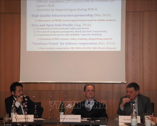 การสัมมนาเกี่ยวกับทะเลตะวันออกย้ำถึงความสำคัญของกฎหมายระหว่างประเทศ - ảnh 1