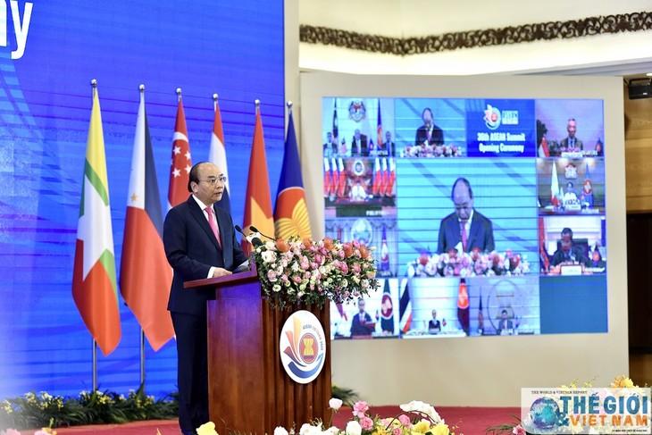 ประชามติโลกชื่นชมบทบาทของเวียดนามในฐานะประธานอาเซียนปี 2020 - ảnh 1