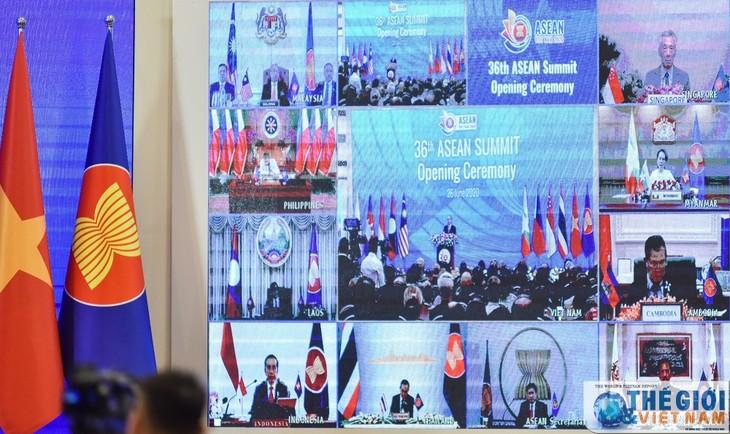 สื่อต่างชาติชื่นชมการประชุมผู้นำอาเซียนครั้งที่ 36 - ảnh 1