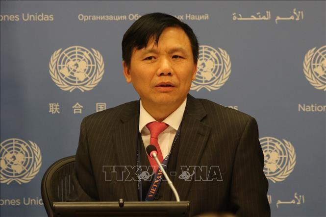 คณะมนตรีความมั่นคงแห่งสหประชาชาติประชุมเกี่ยวกับกิจกรรมการรักษาสันติภาพและสิทธิมนุษยชน  - ảnh 1