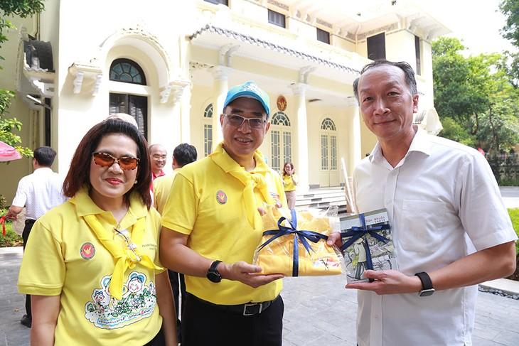กิจกรรมบริจาคโลหิตของสถานทูตไทยประจำกรุงฮานอย - ảnh 7