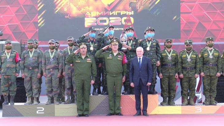 ทีมรถถังเวียดนามได้รับเหรียญทองในการแข่งขัน Army Games 2020 - ảnh 1