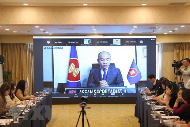 ผลักดันงานด้านสังคมเพื่อมุ่งสู่ประชาคมอาเซียนที่เป็นหนึ่งเดียวและพร้อมปรับตัว - ảnh 1