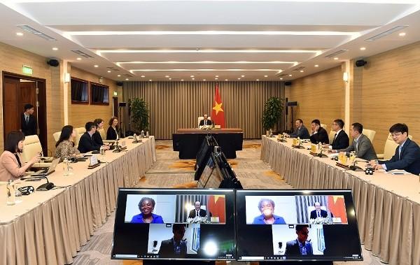 เวียดนามยกระดับประสิทธิภาพในการปฏิบัติโครงการที่ได้ลงนามกับธนาคารโลก - ảnh 1