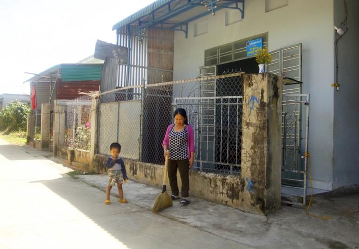 การก่อสร้างบ้านแห่งความเมตตาจากกองทุน 1,000 ด่ง - ảnh 2