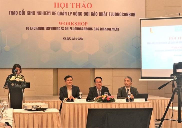 เวียดนามจะยุติการใช้สารที่ทำลายโอโซนอย่างถาวร - ảnh 1