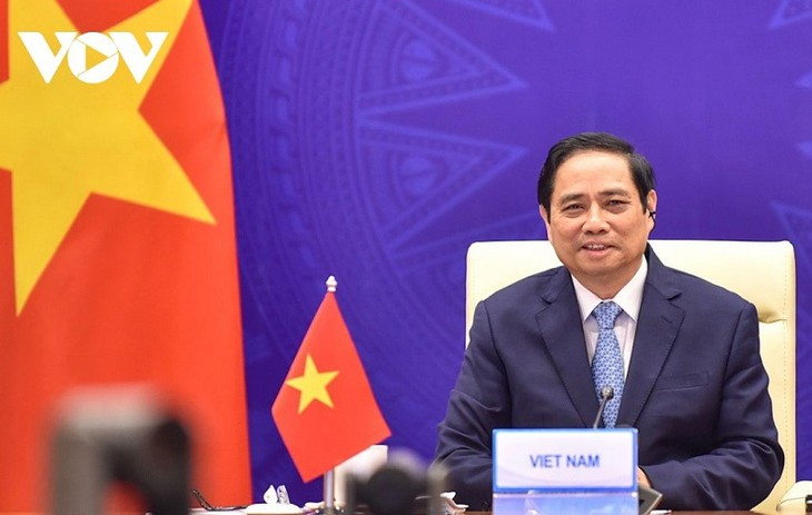 นายกรัฐมนตรี ฝามมิงชิ้งยืนยันคำมั่นของเวียดนามในการมีส่วนร่วมต่อการปฏิบัติเป้าหมายและวิสัยทัศน์ร่วมของ GMS - ảnh 1