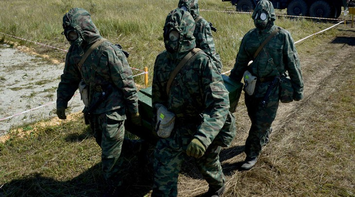Russia destroys 99% of its chemical weapons - ảnh 1
