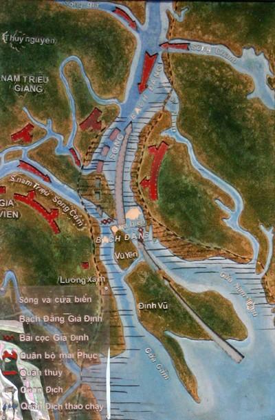 Bach Dang Giang relic site highlights national undauntedness - ảnh 2