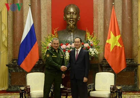 Defence cooperation important to Vietnam-Russia ties: President - ảnh 1