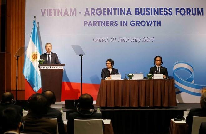 Vietnam, Argentina seek ways to boost economic partnerships - ảnh 1