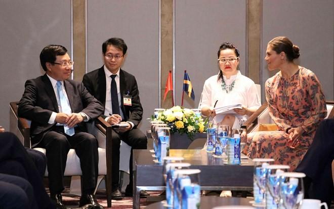 Crown Princess's visit reinforces Vietnam-Sweden multidimensional cooperation - ảnh 1