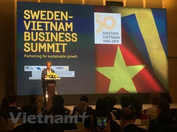 Crown Princess's visit reinforces Vietnam-Sweden multidimensional cooperation - ảnh 2