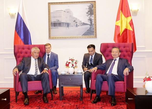 Vietnam, Russia promote collaboration in crime combat - ảnh 1