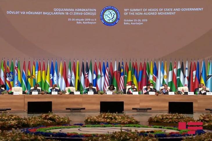 18th NAM summit in Baku wraps up - ảnh 1