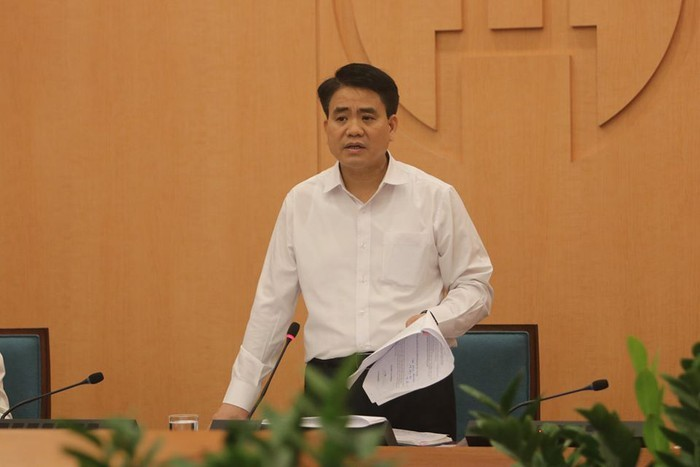 Hanoi Mayor: Residents should stay confident in authorities' disease control measures - ảnh 1