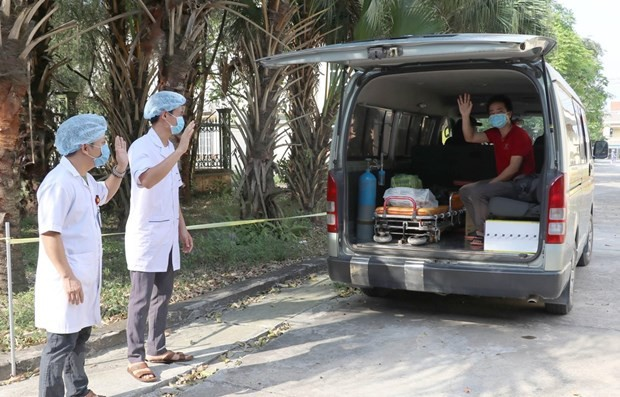 Vietnam sees no new domestic infection of COVID-19 for 25 consecutive days - ảnh 1
