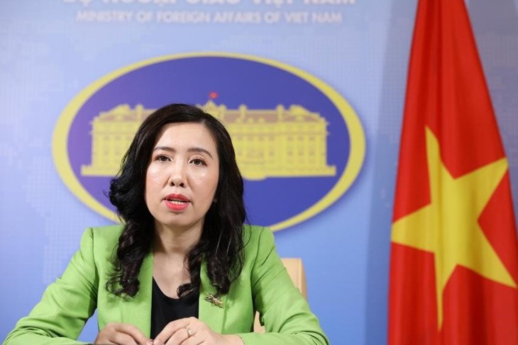Vietnam asks parties not to further complicate the situation in the East Sea - ảnh 1