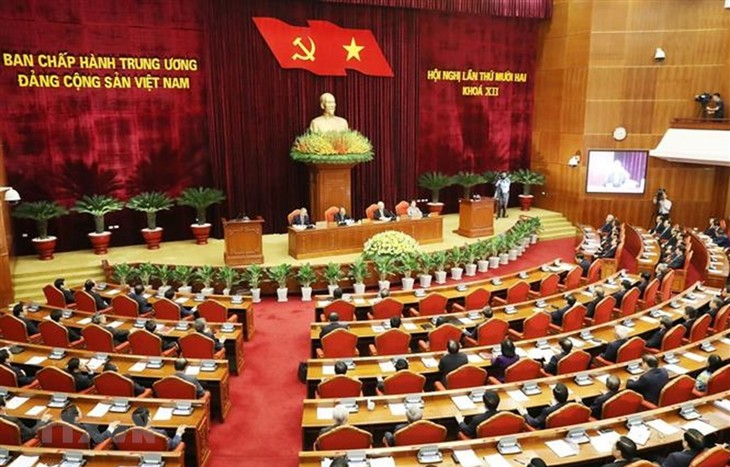 12th Plenum of 12th Party Central Committee closes - ảnh 1