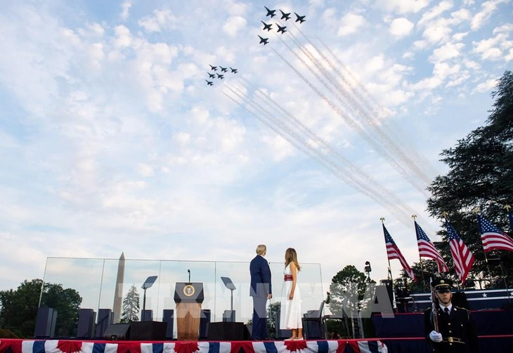 July 4th military flyovers go over DC, four other cities - ảnh 1