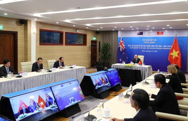 Vietnam, New Zealand establish Strategic Partnership - ảnh 1
