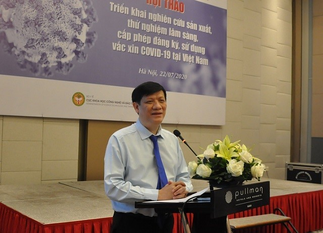 COVID-19 vaccine to begin human testing in Vietnam later this year - ảnh 1