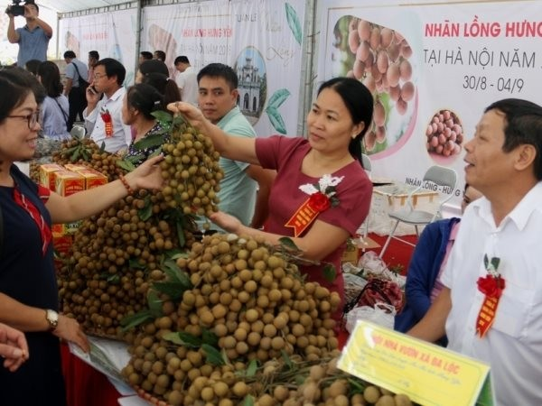 Hung Yen promotes sales of agricultural products - ảnh 1