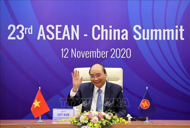 ASEAN, China uphold peace, dialogue, consultative in dispute settlement - ảnh 1