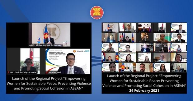 ASEAN, Canada, UN Women advance women's role in conflict prevention - ảnh 1