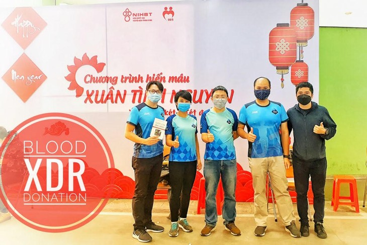 """""""Run for Blood"""" campaign launched - ảnh 1"""