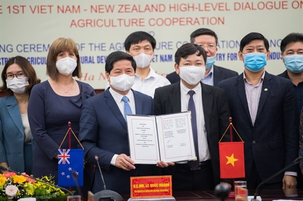 New Zealand, Vietnam boost agricultural cooperation - ảnh 1