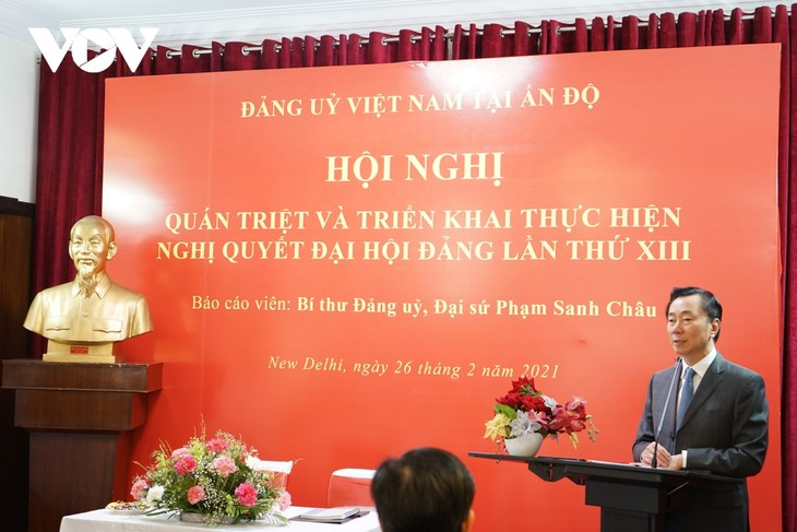 Vietnam's Party Resolution disseminated in India - ảnh 1