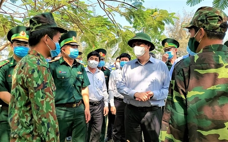 Southwestern border provinces strengthen COVID-19 prevention measures - ảnh 1