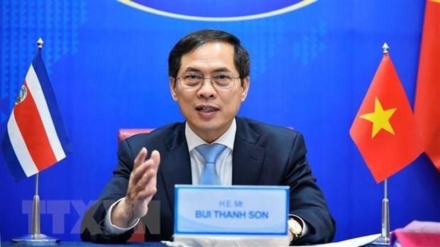 Vietnam, Costa Rica discuss boosting ties - ảnh 1