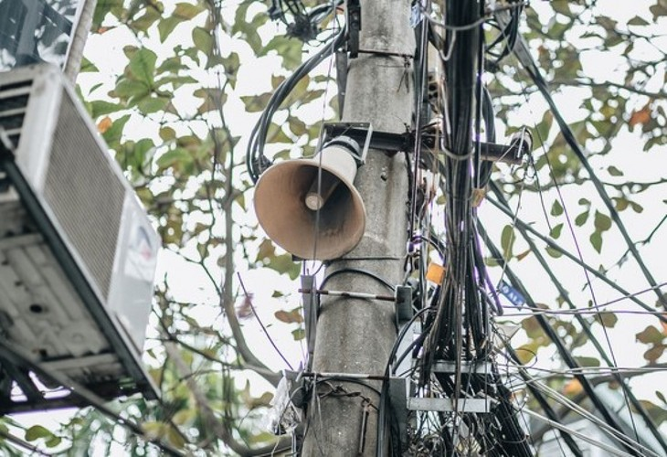 Community loudspeakers – an effective tool in fighting COVID-19 - ảnh 1