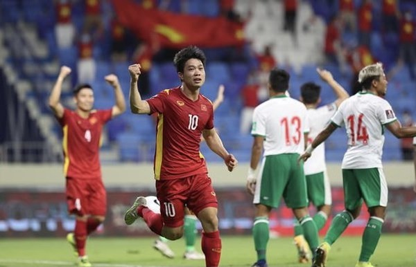 Vietnam beat Indonesia 4-0 in World Cup qualifiers - ảnh 1