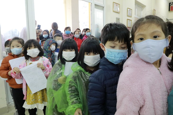 Children protected in pandemic - ảnh 1