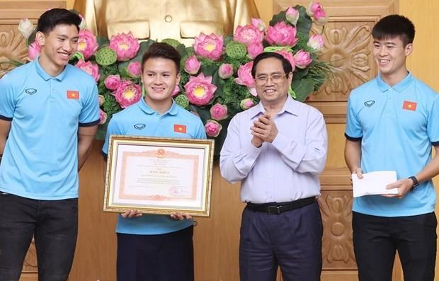 Sport achievements demonstrate Vietnamese people's will: PM - ảnh 1