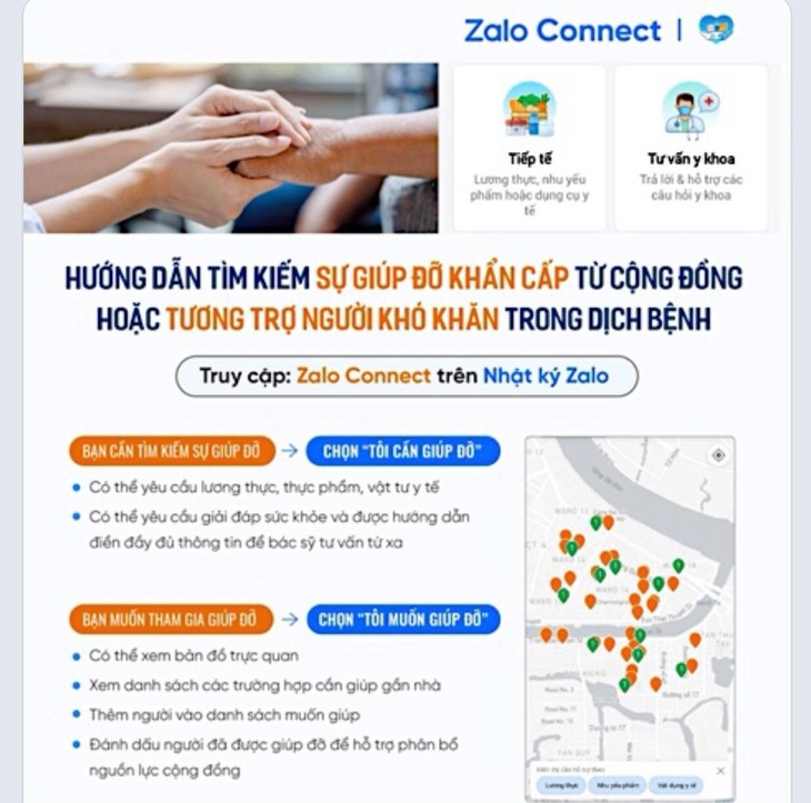 Zalo Connect connects love - ảnh 1