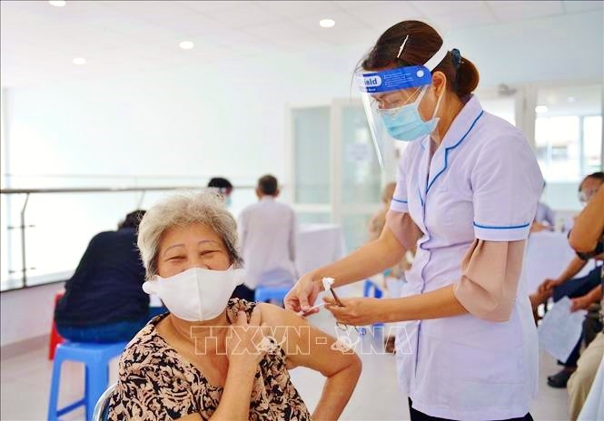 Vietnam cares for the elderly during pandemic - ảnh 1