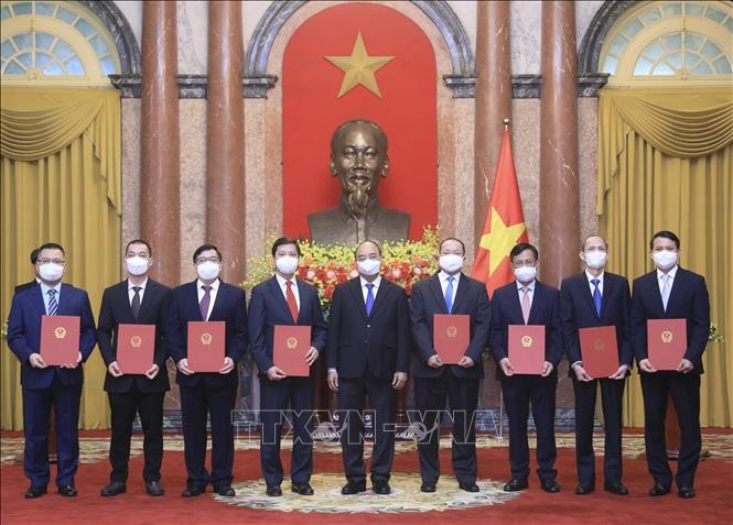 President tasks diplomats with external resources mobilisation for national growth - ảnh 1